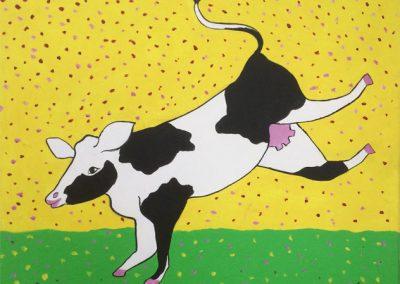 Lente koe
