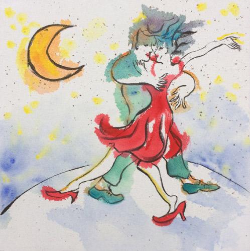 Dans door de nacht